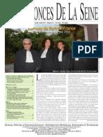 Les Annonces de La Seine Edition Jeudi 4 Juin 2015 - Numéro 20