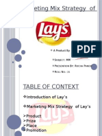 4p's analysis of lays