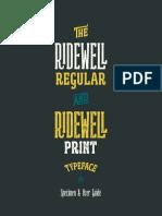 Ridewell Specimen