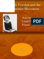 Betty Friedan and the Feminist Movement