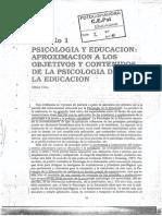 2. COLL (1995) Psicología y Educación Aproximación a Los Objetivos y Contenidos de La Psicología de La Educación