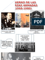 Gobierno de Las Fuerzas Armadas (1968-1975)