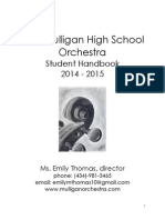 High School Sample Handbook