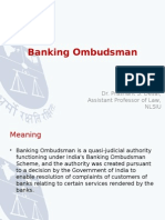 Banking Ombudsman Scheme, 2006