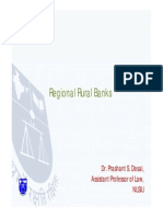 Regional Rural Banks - Indian banking law