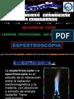 diapositivas de espectroscopia