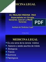 MEDICINA LEGAL Introduccion