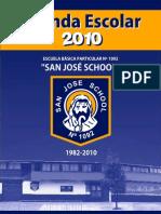 Agenda Colegio San José School