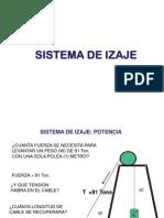 Sistema Izaje