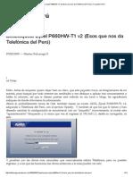 Desbloquear Zyxel P660HW-T1 v2