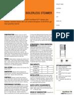Groen SSB 3G GF Steamer