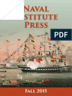 Naval Institute Press Fall 2015 Catalog