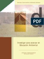 Investigar Para Avanzar en La Educacion Ambiental