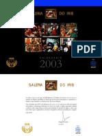 Calendário IRIB 2003