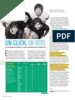 Un Click Un Voto_tecnología y Política