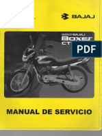 Manual de Servicio Boxer CT 100