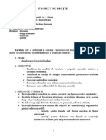 Proiect Didactic Kineto