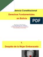 Clase No. 4. Jurisprudencia Constitucional Derechos Fundamentales