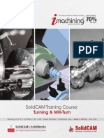 SolidCAM 2015 Turning and Mill Turn Training Course