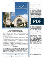 Bulletin for June 7th, 2015