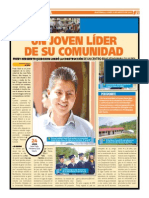 Fredy Quib Oxom logra apoyar la construcción de Instituto Maya