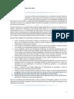 Respuesta Decanato a Petitorio CES. 05 de junio, 2015