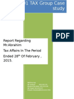 tax group report final