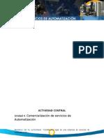 Comercialización de servicios de Automatización