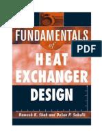 Fundamental of Heat Exchanger Design by R K Shah.pdf