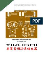 Amplificador Modular Zener Monofonico 200W