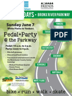 BikeSunday Pedal Party Flyer 2015