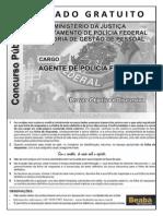 Simulado gratuito Beabádoconcurso _PF2012