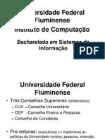 Apresentação Sistemas de Informação UFF