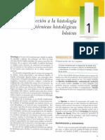 Cap 01 - Introducción a La Histología y Técnicas Histológica