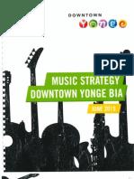 Downtown Yonge BIA Music Strategy