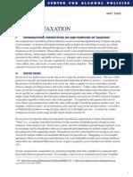 Icap Alcohol Taxation