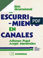 Libro de Analisis de Escurrimiento en Canales.pdf