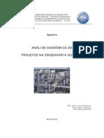 Apostila Análise Econômica de Projetos 1 - Versão 2012