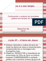 Jesus e o seu tempo