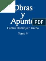 Camila Henríquez Ureña. Obras y Apuntes
