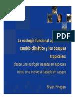 Diversidad Funcional y Cambio Climático CATIE