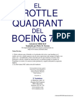 Throttle Quadrant 737 ES