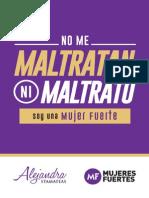 No Me Maltratan Ni Maltrato