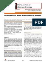 Acute Apendicitis