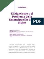 El Marxismo y La Emanicpación de La Mujer - Toledo