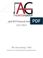 life prep - april 15 financial statements