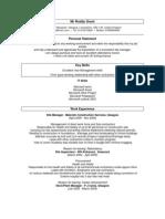 Roddy J Grant CV PDF