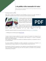 Analisis Artículo economia