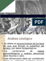 FOTOINTERPRETACION GEOLOGICO