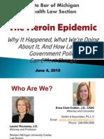 The Heroin Epidemic - SBM Webinar PPT Rev2- June 4